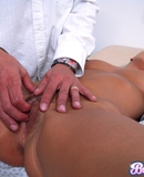 Bree Olson gets a thorough exam and meat injection