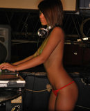 Naked DJ Bailey Knox
